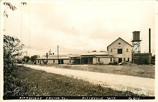 Wisconsin, WI, Pittsville, Pittsville Caning Co 1940's Real Photo Postcard