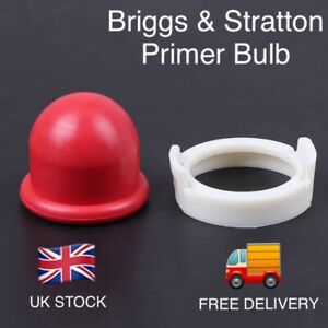 Briggs & Stratton 694394 Primer Bulb - Red , 2 year Guarantee ✅ UK STOCK.