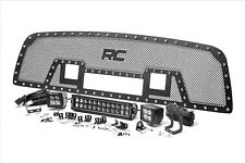 Rough Country Mesh Grille Insert w/ LED Light Bar, 09-12 Ram 1500; 70186