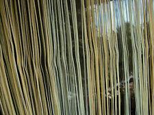 1 Faden Vorhang Gardine Store Insektenschutz Schlaufenband B/H 195x160 grün gelb