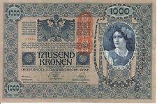 Austria : 1000 Kronen 1902 ( nice note )