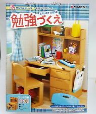 Miniature Student Study Desk & Chair set - Re ment  , #1ok