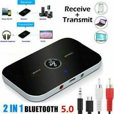Bluetooth Transmitter Empfänger Sender Wireless Aux Audio Adapter TV Kopfhörer C