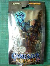 Édition limitée Games Day 2005 Space Marine Veteran Sergent Épuisé RARE