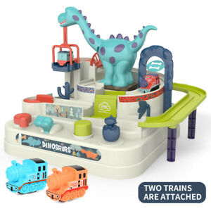 Dinosaur Car Toy Educational Car Vehicle Track Adventure Game Toy Kids Boy Gifts