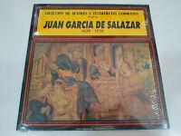 """Juan Garcia de Salazar 1639-1710 Interpretes Zamoranos LP 12"""" Vinilo Nuevo"""