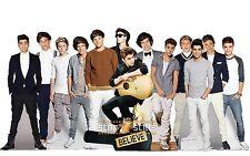 Justin Bieber & One Direction LIFESIZE CARDBOARD CUTOUT Standee Standup Cutouts!