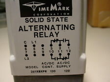 Time Mark Solid State Alternating Relay Model 261XBXPR with socket