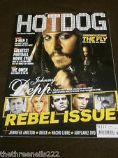 HOTDOG #76 - JOHNNY DEPP - REBEL ISSUE - JUNE 2006
