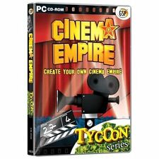 Cinema Empire Create Your Own Cinema Empire ( PC CD Game) NEW & Factory Sealed
