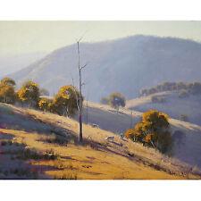 Gercken SUMMER LANDSCAPE PAINTING COMMISSIONED AUSTRALIAN TRADITIONAL  FINE ART