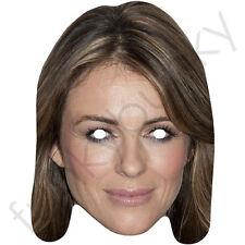 Liz hurley elizabeth celebrity acteur carte visage masque-toutes nos masques sont pré-coupé!