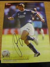 90-2000's Autographed Magazine Picture A4: Leicester City - Connolly, David. We