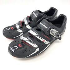 Pearl Izumi Mens Elite Road III Carbon Road Bike Cycling Shoes Black Size 46