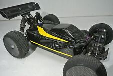 LOSI 1/14 MINI 8IGHT EIGHT 2XCFL REAL CARBON FIBER CONCEPT RACE  BODY