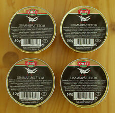Hungarian Goose Liver Pate 35% Foie Gras content 4 x 50g/4 x 1.8oz FREE shipping
