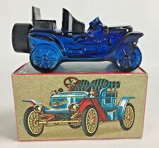 Vintage AVON Stanley Steamer Automobile EMPTY Decanter Bottle in Original Box