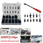 350 Clips Car SUV Door Push Pin Rivet Trim Fastener Screwdriver Remover Tool Kit