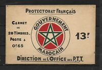 MAROC - Protectorat Français - NEUF - CARNET.N°.3** - CASBAH de RABAT - TTB.