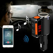 Wireless Bluetooth LCD Modulator Car Kit MP3 Player FM Transmitter USB Charger