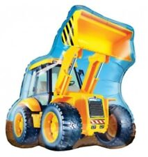 """Construction Tractor 32"""" Balloon Birthday Party Decorations"""