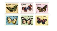 KUB8903 Butterflies 6 pcs MNH 1989