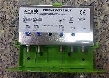 CENTRALINO DA PALO 2 USCITE 40 37 dB UHF AMPLIFICATORE ANTENNA TERRESTRE