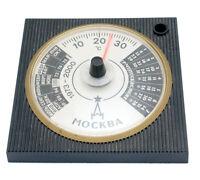 VINTAGE RUSSIAN SOVIET PERPETUAL DESK CALENDAR Pen Holder Termometer Kremlin