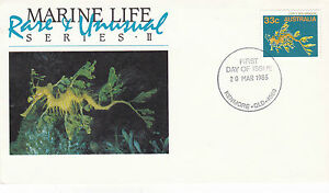 AUSTRALIA 20 MARCH 1985 MARINE LIFE II OFFICIAL FIRST DAY COVER SHS