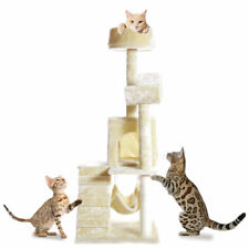 "51"" Cat Kitty Tree Scratcher Play House Condo Furniture Toy Post House"