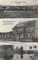 #766 - AK Gruss aus Fahrland b. Potsdam - Gasthof Deutsches Haus - 1940 gelaufen
