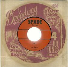 THE SPADES JODY/WHEN I GET TO GOIN'
