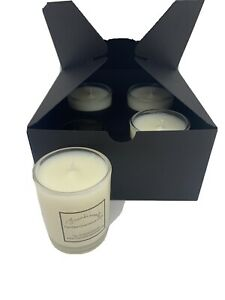 4 x 10ml highly scented Soy wax, Vegan Friendly Candles in Mrs Hinch-like smells