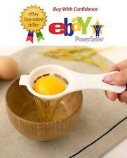 Egg Yolk and White Separator Holder Filter Divider Sieve Kitchen Tool Strainer