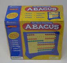 Learning Resources Ten Row Counting Abacus SEALED