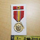 US Armed Forces National Defense Medal & Ribbon w One Star, New Old Stock (NOS)