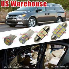 17-pc White Car LED Interior Package Kit Map Lights For 2011-2016 Honda Odyssey