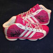 Phoenix Mercury GAME USED Pink SHOES Nakia Sanford AUTOGRAPH Basketball WNBA