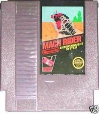 NES NINTENDO  ENTERTAINMENT SYSTEM GAME MACH RIDER PROGRAMMABLE SERIES