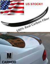FIT FOR BMW E90 323i 325i 335i 328i or M3 4-DOOR Sedan CARBON FIBER REAR SPOILER