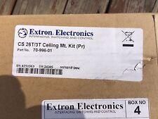 Extron Electronics CS 26CT Plus & CS 3T Ceiling Mount Kit 70-996-01
