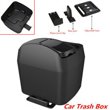 Car SUV Vehicle Trash Box Rubbish Garbage Container Dust Bin Cup Holder Plastic