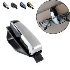 Sunglasses Clip Card Holder Car Sun Visor Storage Glasses Mount Ticket Gold