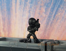 Hasbro Micro Force G I JOE SNAKE EYES Mini Figure Cake Topper Model K1015 V