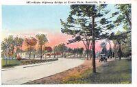 Boonville New York~Erwin Park~State Highway Bridge~Homes~Vintage Truck~1920s PC