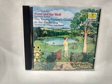 Peter And The Wolf Benjamin Britten The Young Person's Guide To Orchestra cd6365
