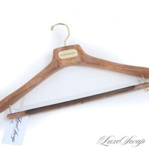LNWOT No Man Walks Alone Brown Woodgrain Composite Jacket Pants Suit Hanger NR