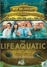 The Life Aquatic With Steve Zissou (DVD, 2005, Widescreen) Anjelica Huston