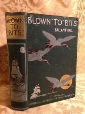 Blown to Bits Lonely Man of Rakata by Ballantyne Fine Binding Antique Book Malay