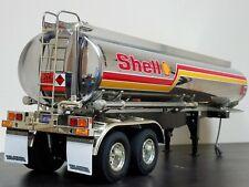 Tamiya R/C 1/14 Semi Shell Fuel Tank Tanker Trailer Tractor w/ Light Kit add-on